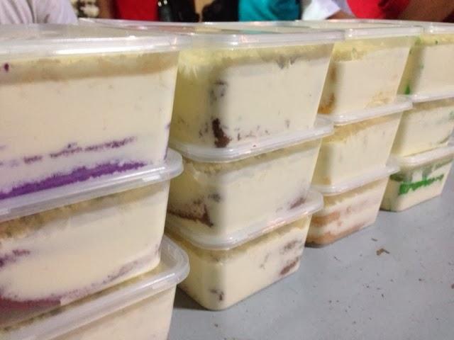 Zizan Home Bakery Tempahan Meleleh Cheese Cake