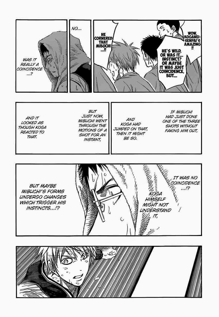 Kuroko no Basket Manga Chapter 256 - Image 02