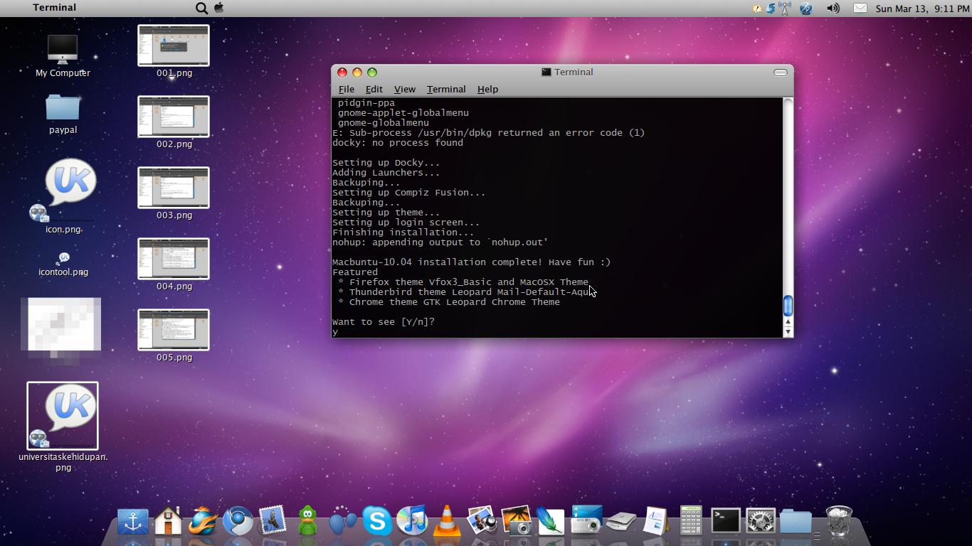 Ubah Ubuntu jadi Mac 6