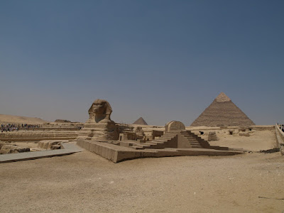 Pyramids  and Sphinx Picture