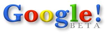Logo de Google durante la fase Beta