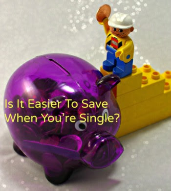 Is it easier to save when you're single?