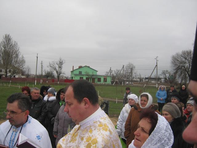 Церемония открытия мемориала жертвам Голодомора