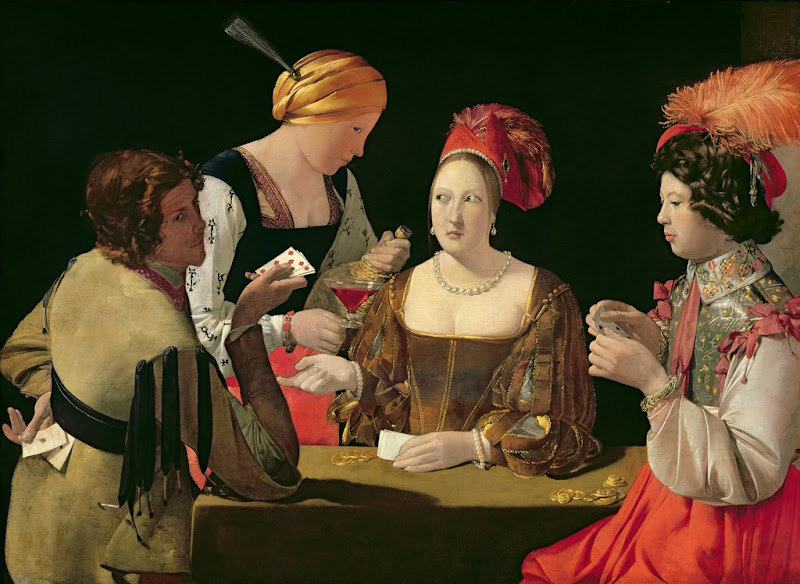 Georges de La Tour - Cheater with the Ace of Diamonds