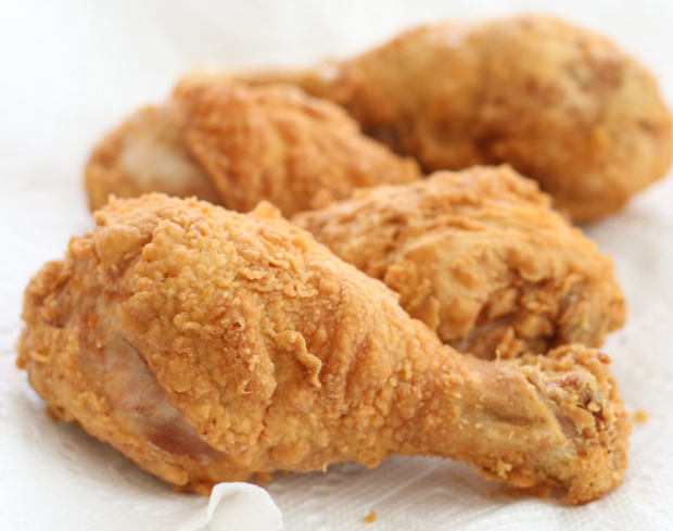 photo of fried drumsticks