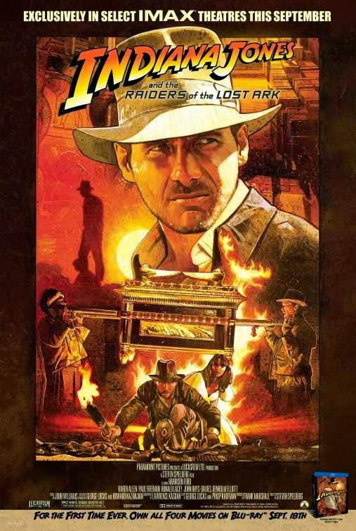 Poster Of Indiana Jones And The Raiders of the Lost Ark (1981) Full Movie Hindi Dubbed Free Download Watch Online At Alldownloads4u.Com