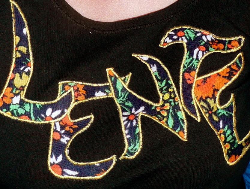 Shirt met Lente erop