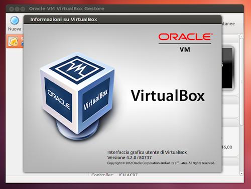 VirtualBox 4.2.0 su Ubuntu