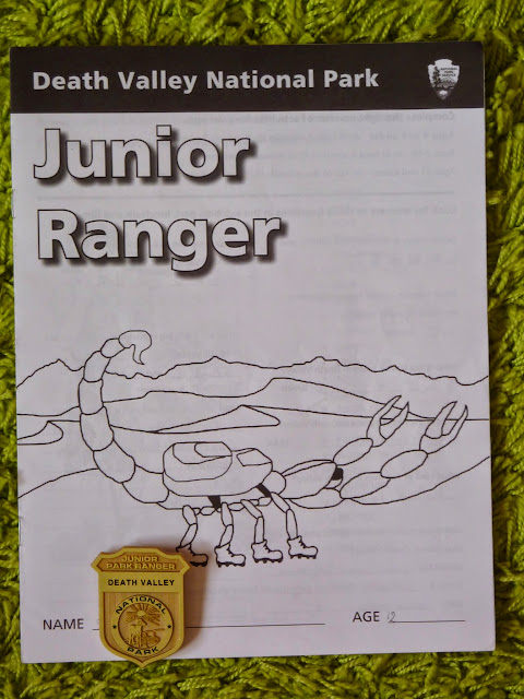 death valley junior ranger