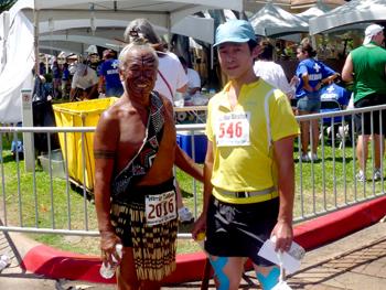With Mr. Maori