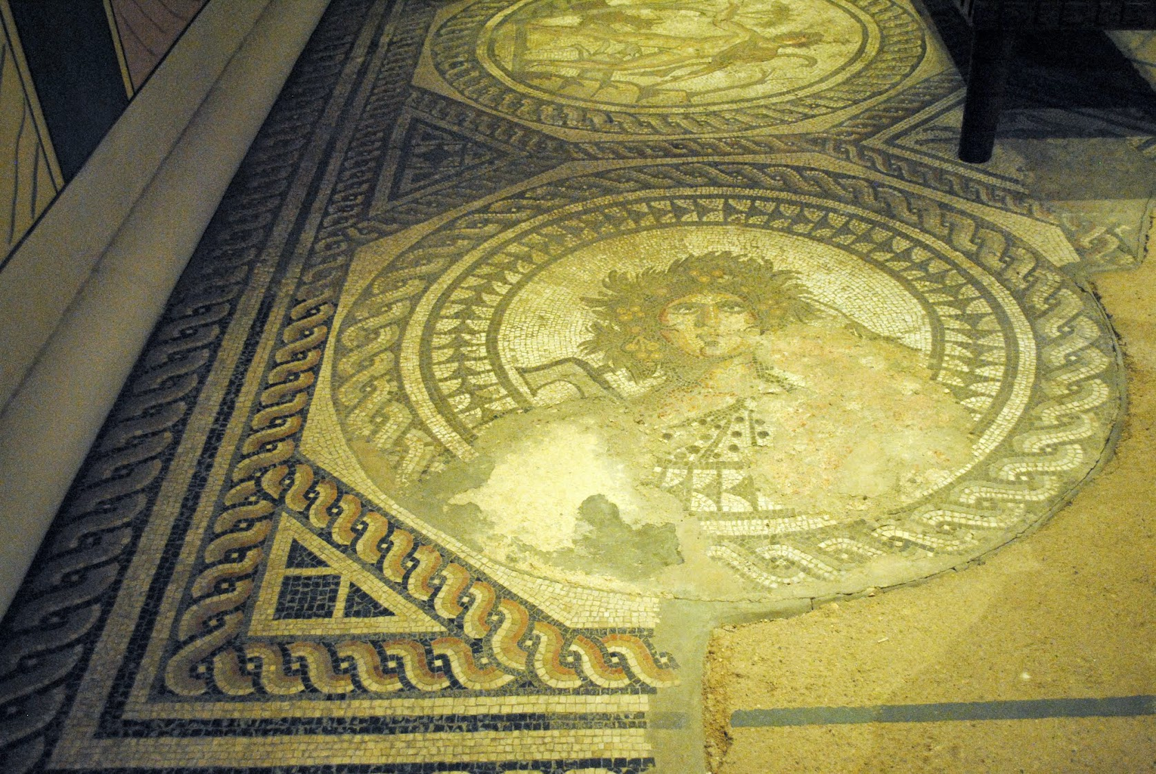 My Photos: England -- Mosaics -- Cirencester -- Corinium Museum -- Four Seasons Mosaic