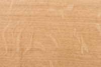 natural quarter sawn oak wood sample