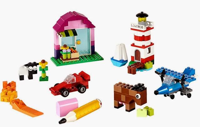 Lego Classic 10693 Sáng tạo bổ xung đem tới khả năng xây dựng là vô tận