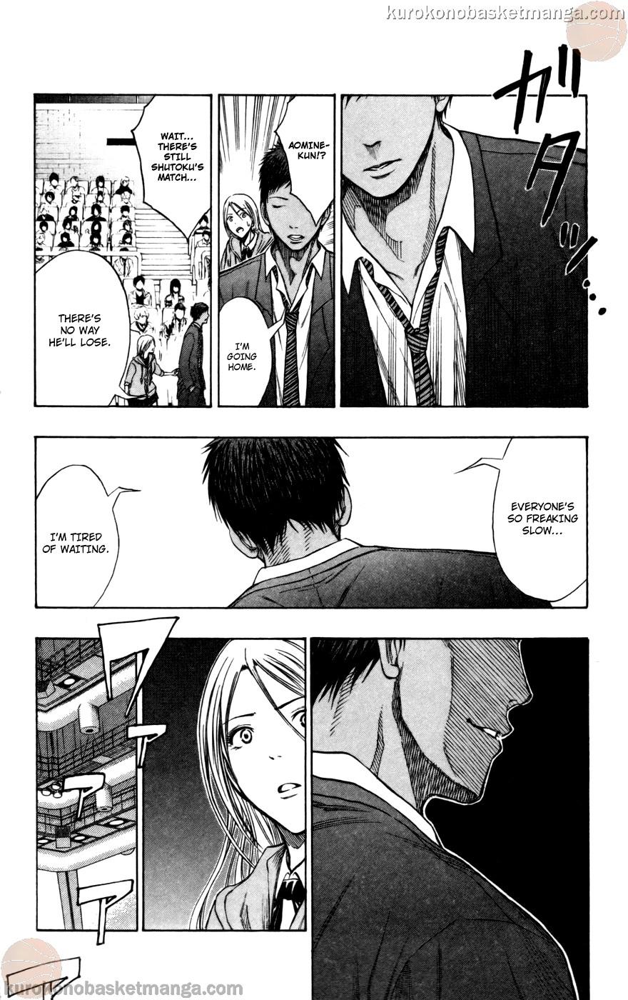Kuroko no Basket Manga Chapter 108 - Image 08