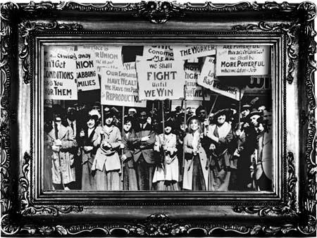 Manifestação feminina