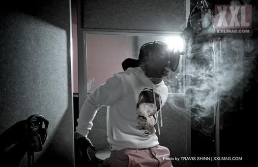 Foto do Lil Wayne na revista XXL Magazine de Julho/Agosto