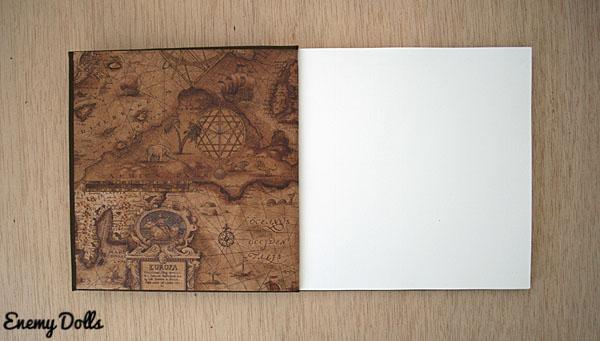 Libreta de encuadernación japonesa