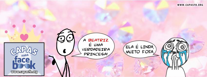 Capas para Facebook Beatriz