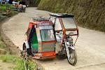 Banaue: un tricycle