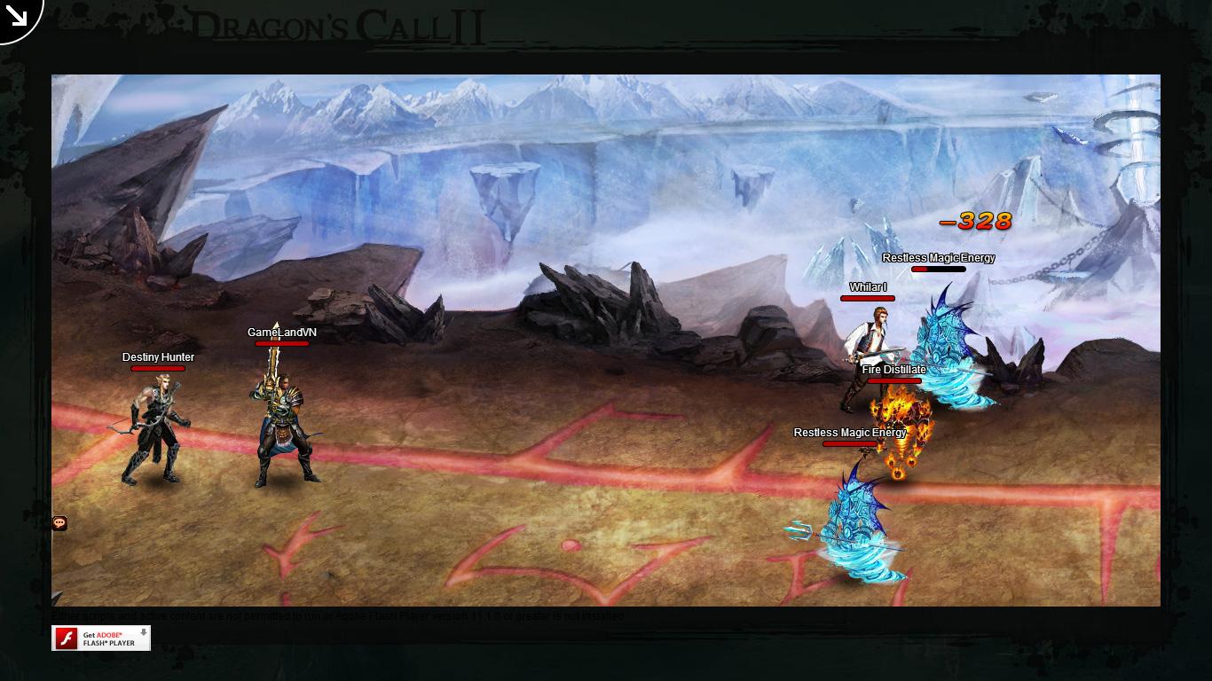 Một số hình ảnh về webgame Dragon's Call 2 - Ảnh 38