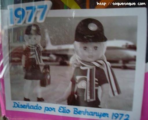 nancys azafatas de ayer y de hoy colección 1977