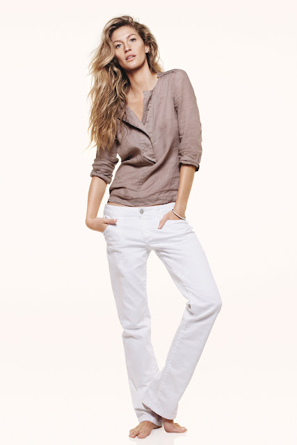 Esprit 2012 May Collection - Gisle Bundchen