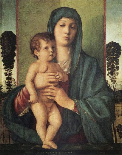 Gentile Bellini - Madonna of the Trees
