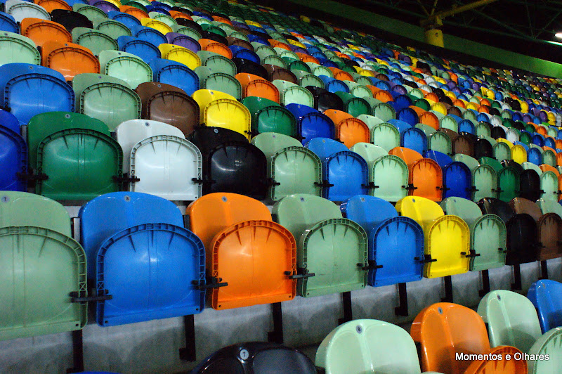 As cores do Alvalade XXI