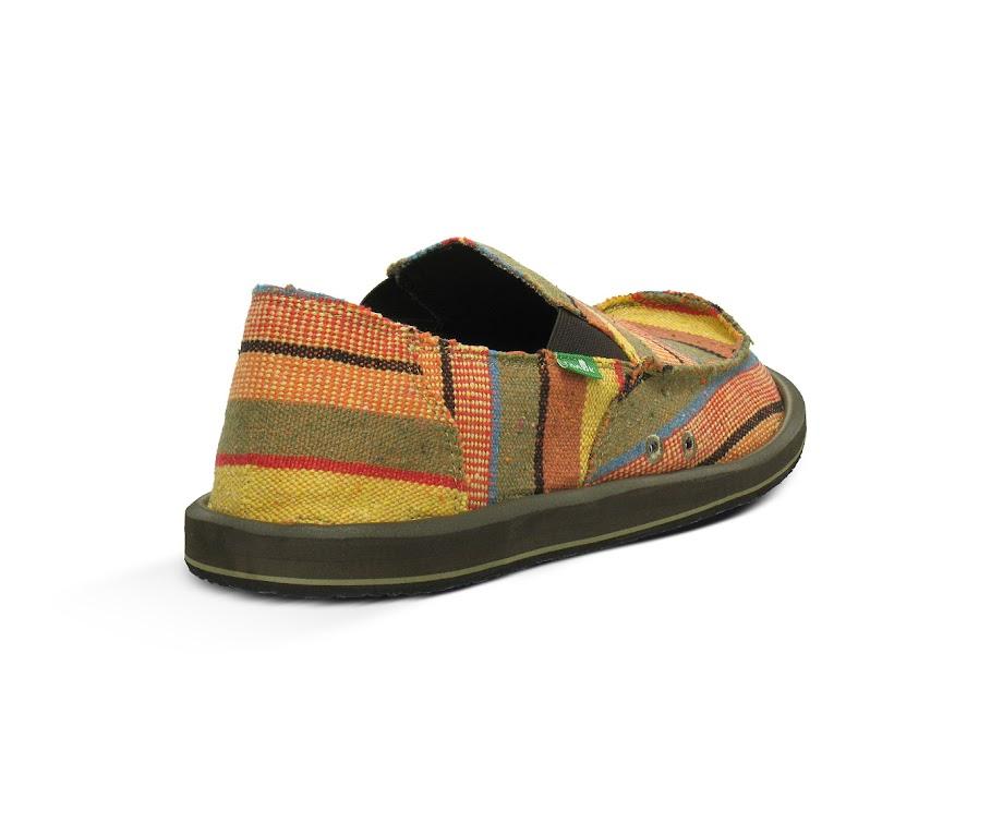*Sanuk 鮮豔麻編織:DONNY 寬版懶人鞋! 3