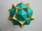 "Dodecahedron from Propeller Units in Tomoko Fuse's ""Multidimensional Transformations: Unit Origami""."