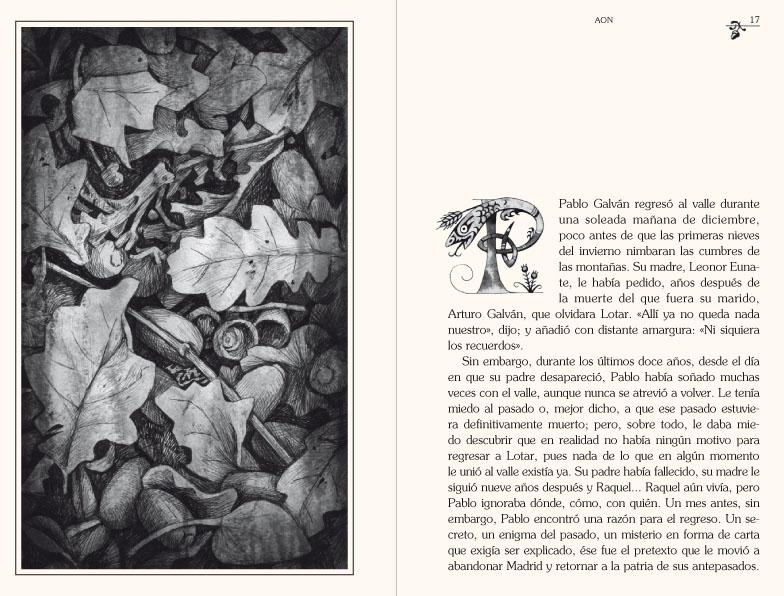 Una página de Leonís
