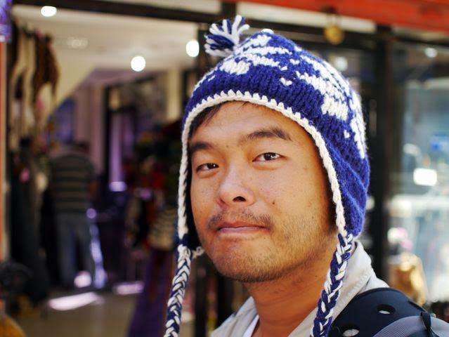 達人帶路-環遊世界-尼泊爾-毛帽