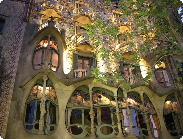 mosaicos de la Casa Batlló