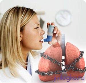 как разжижать мокроту при бронхиальной астме
