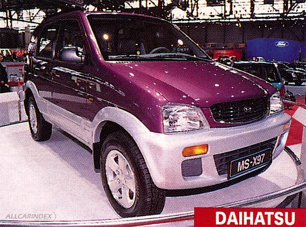 Daihatsu - MS-X97