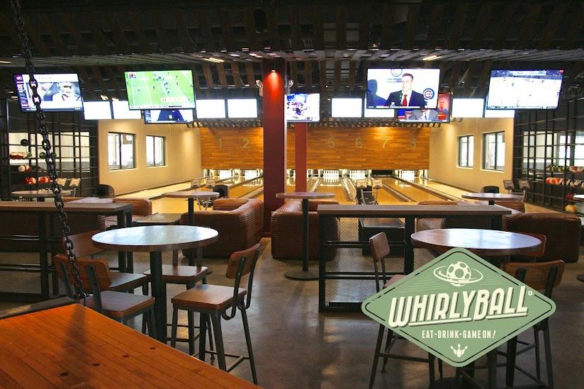 Whirlyball interior