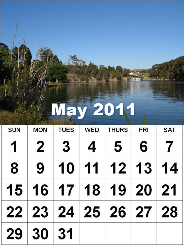 may 2011 calendar printable free. Printable May 2011 Calendar