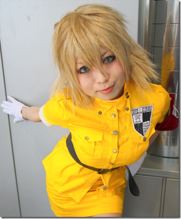 hellsing cosplay - seras victoria from winter comiket 2010