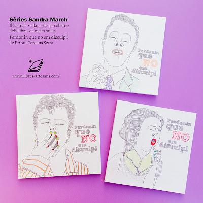 Sandra March il·lustra llibre de contes curts