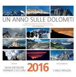 Copertina calendario 2016 un anno sulle dolomiti