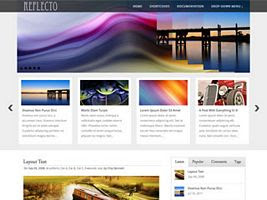 Reflecto WordPress Theme
