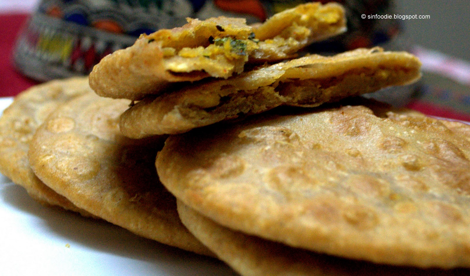 Sinfoodie for the love of cooking chana dal puri bengal gram dal