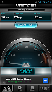 SPEEDTEST.NET結果