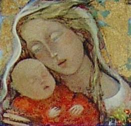 lucia merli - madonna con bambino