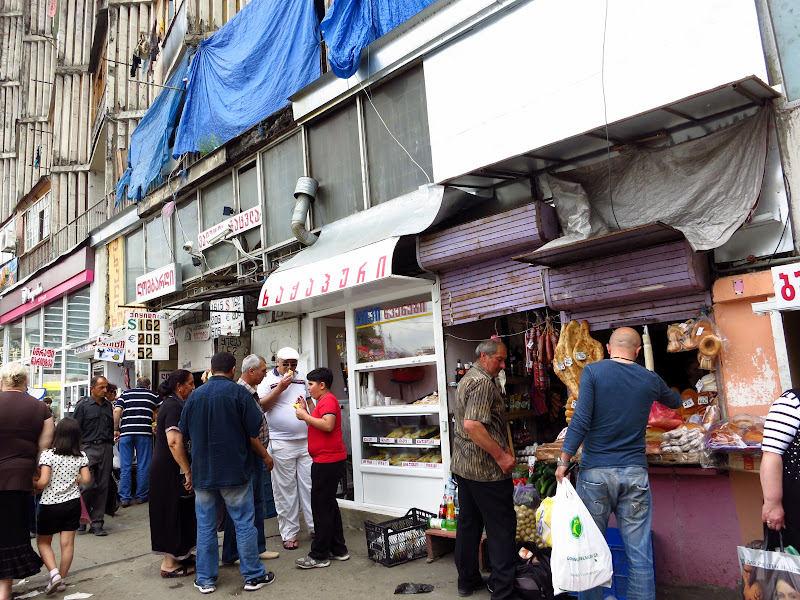 Near the Tbilisi bazaar
