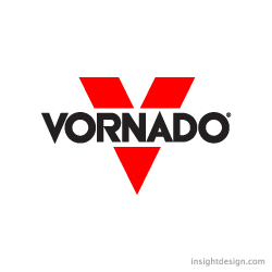 Vornado is a national brand logo