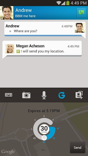 BBM v2.1.1.53 for Android Preview 1