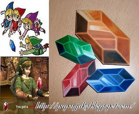 Rupee Papercraft