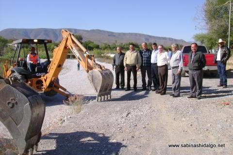 Inician reconstrucción de vado de Colonia Enrique Lozano