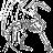 Azure-Eyes Silver Dragon avatar image